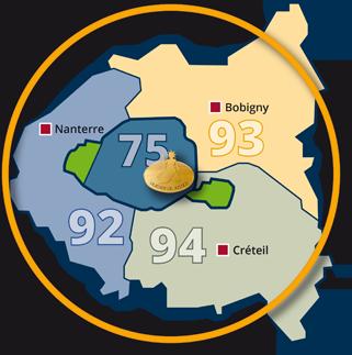 Huissier de justice pour constat à Paris 75, dans les Hauts-de-Seine 92, en Seine-Saint-Denis 93, et dans le Val-de-Marne 94