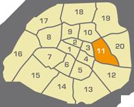 Huissier de justice à Paris 11 - 11ème arrondissement - 75011