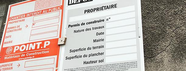 Le constat d'affichage de permis avant travaux par Huissier de Justice à Paris constitue une preuve opposable à toute contestation de tiers