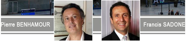 Pierre Benhamour et Francis Sadone - Huissiers de justice associés - 75011 Paris